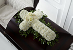 Peaceful Memories Casket Spray